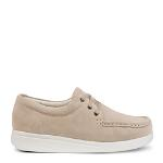 Happy Walking lace shoe in suede