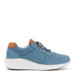 Dolphin sneaker w. toggle in suede