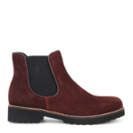 Strike chelsea boot in plain suede