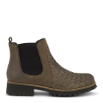 Strike chelsea boot w. weaving on vamp