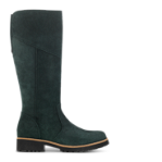Strike long boot, zipper ins. Suede - EXTRA WIDTH