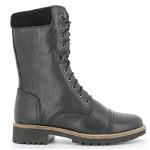 Strike long boot with lace
