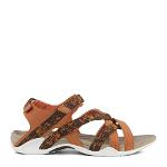 Splash sandal in synthetic matr. w slim straps