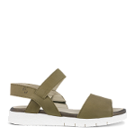 Trinity sandal w. 1 velcro strap in calf leather