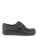 Classic Comfort men velcro shoe in elk leather