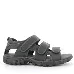 Outdoor mens sandal 3 straps, closed back