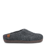 MAKALU - Wool slipper w. suede outsole