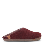 BHUTAN - Wool slipper w. suede outsole
